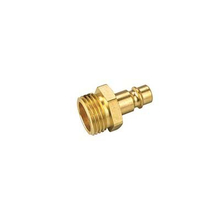 Brass Color Plug W /Hose Barb Pneumatic Connector Brass Pipe Plug