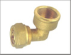 Brass 90 degree Elbow Plumbing Fitting Union Connection China Supplier